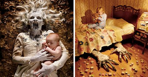 photographer dad  horror photoshoots