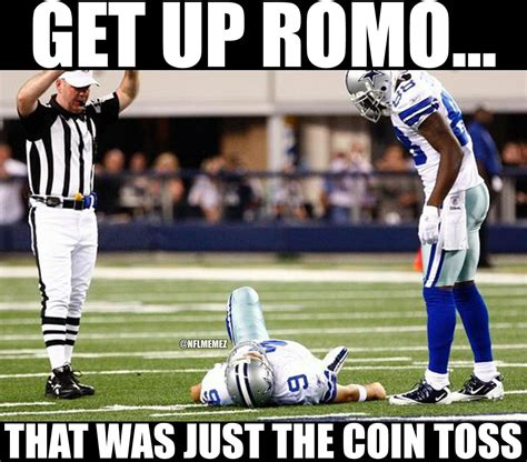 Tony Romo Injury Meme - aint no right view topic nfl