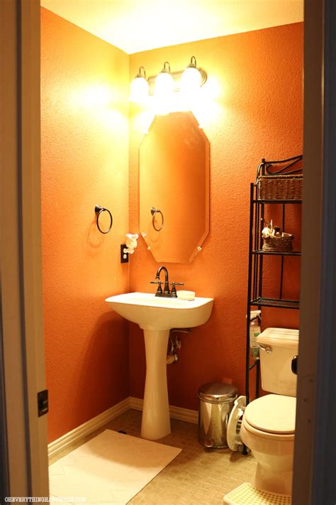 powder room makeovers reveal powder room makeover oh everything handmade