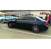 BMW 750 Li On 24 Staggered Forgiatos  1080p HD Doovi
