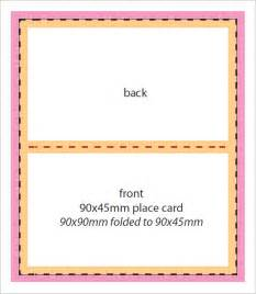 place card template free 6 per page free place card template 6 per sheet wedding place card
