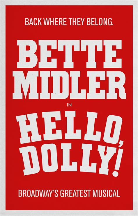 Now I Another Broadway Musical To Get Excited 2 by The Bette Midler And Dolly Coming To