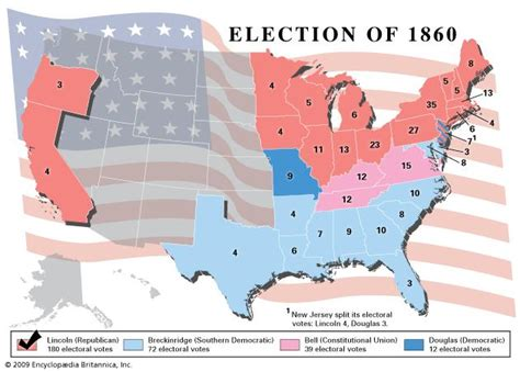 map of us states in 1860 united states presidential election of 1860 united