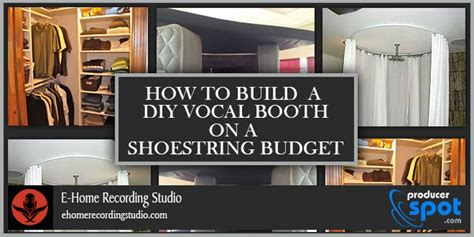 how to make a vocal booth in a bedroom cool build closet vocal booth roselawnlutheran