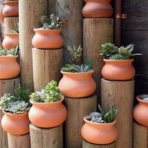 washpot garden pottery   mexico real clay