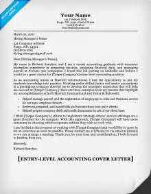Cover Letter For Entry Level Accounting by Entry Level Accounting Cover Letter Writing Tips