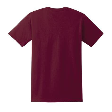 maroon merch gildan 2300 ultra cotton t shirt with pocket maroon