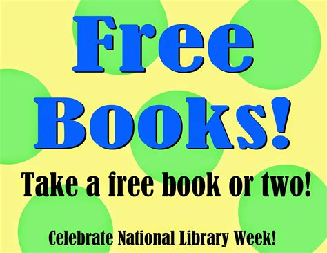 free pictures of books librarian on display april national library week