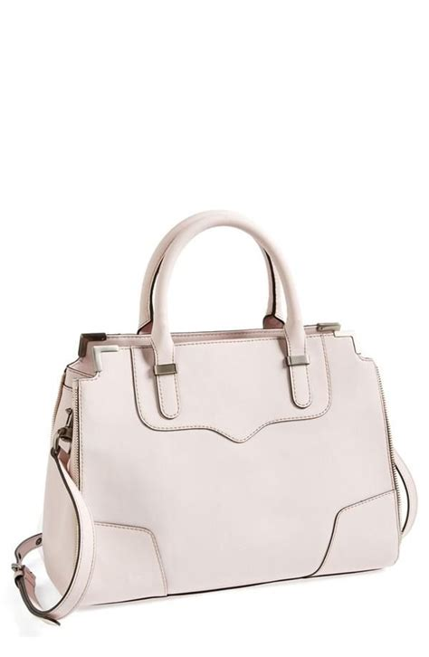 blush colored purses blush minkoff leather satchel pink bag