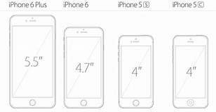 Image result for iPhone 6s screen size Inches