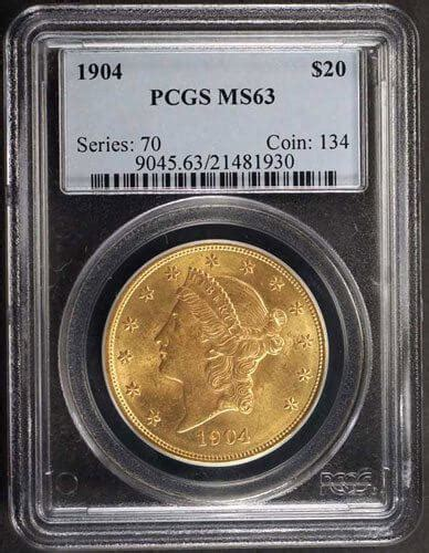 My List Liberty by Liberty 20 Gold Pcgs My Recommended Secret List