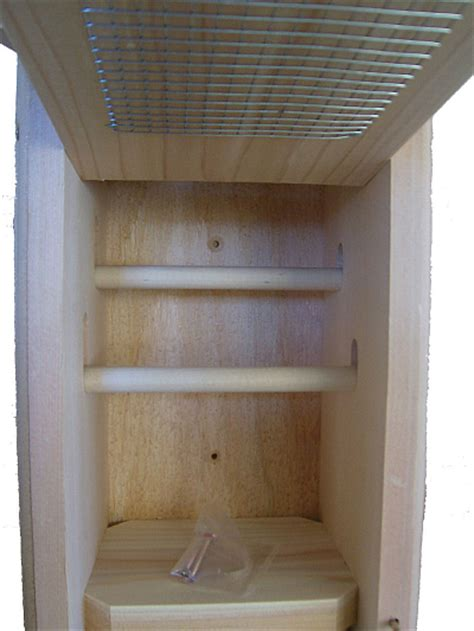 birds choice cedar roosting nesting box winter roosting