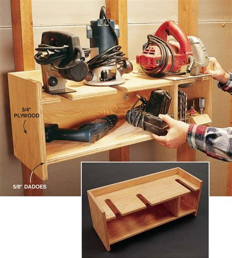 power tool storage plans to build woodshop power tool storage pdf plans