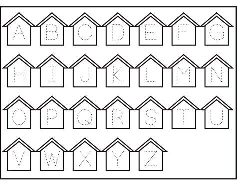 Alphabet Worksheet Set Letters Az by Alphabet Worksheets A Z Alphabet Tracing Worksheet