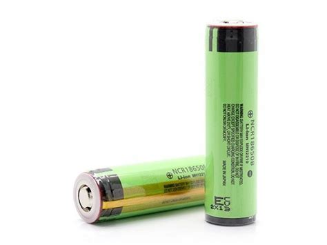 Battery Baterai Panasonic Ncr 18650 3400 Mah L Ion Original 100 panasonic 18650 3400mah 3 7v protected rechargeable li ion battery ncr18650b 18650 batteries
