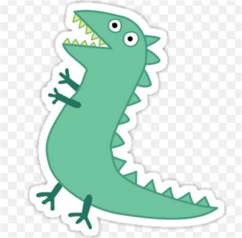 use as template for pin the tail on mr dinosaur peppa
