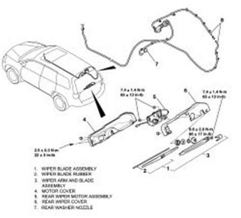 repair guides windshield wipers and washers washer repair guides windshield wipers washers rear window wiper washer system autozone com