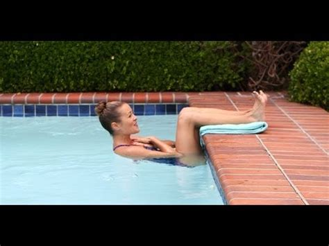 pool workout for abs and workout fitness how to