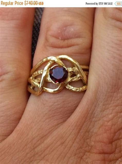 Handmade Artisan Engagement Rings - on sale gold ring 14k yellow gold handmade gemstones