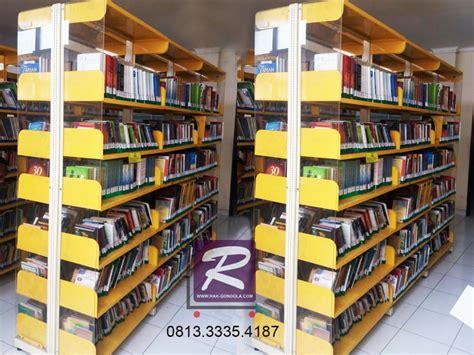 Jual Rak Buku Cirebon rak buku perpustakaan jual rak gondola minimarket murah
