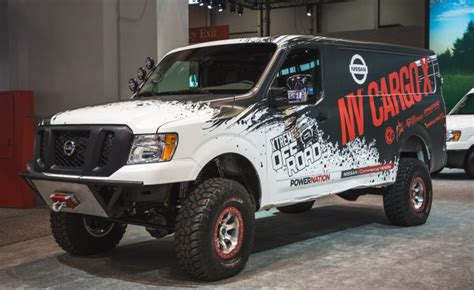 nissan nv lifted nissan s lifted turbo diesel 4x4 could deliver