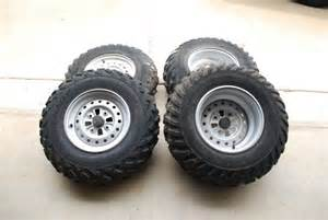 Honda Atv Tires 4 Honda Atv Stock Rims And Tires Louisiana Sportsman