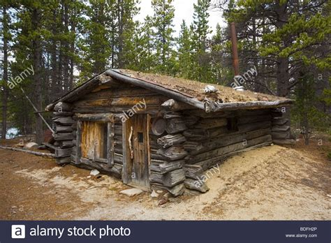 Trappers Cabin by Trapper S Cabin Near Chilkoot Pass Chilkoot