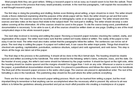 how to write a thesis for a research paper how to write a research paper at essaypedia