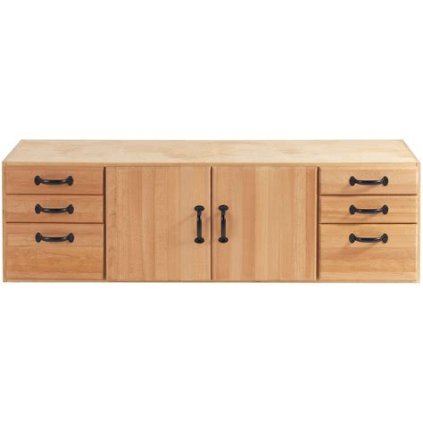bench cabinet storage heavy duty 6 drawer wood work bench woodworking tools