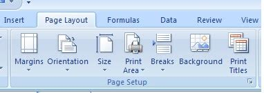 menu untuk mengatur layout dokumen adalah elearning tik cara mengatur halaman pada microsoft excel 2007