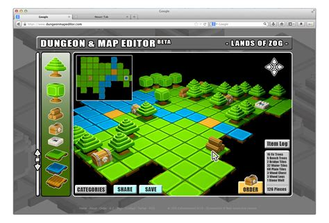 Board Game Layout Software | board game goes digital map editor mockup gnarly root