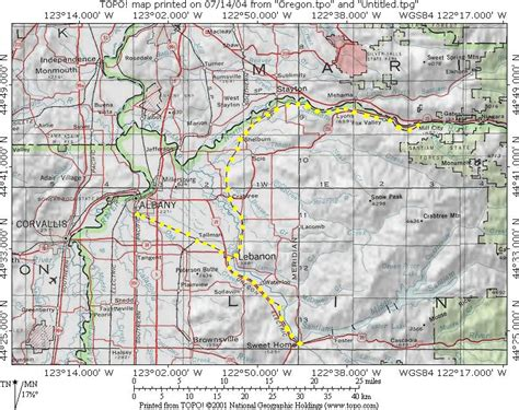 maps albany oregon albany and eastern railroad