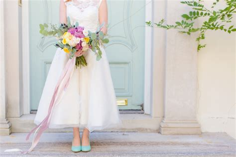 colorful 60s inspired wedding ideas every last detail