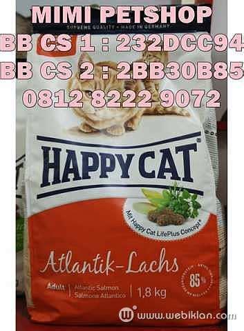 Makanan Kucing Happy Cat Atlantik Lachs 4 Kg jual makanan kucing cat food happy cat murah bisa kirim