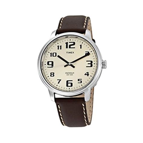 Timex T28201 Indiglo Easy Reader Mens With Indiglo
