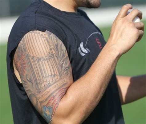 molina s world series tattoo st louis cardinals