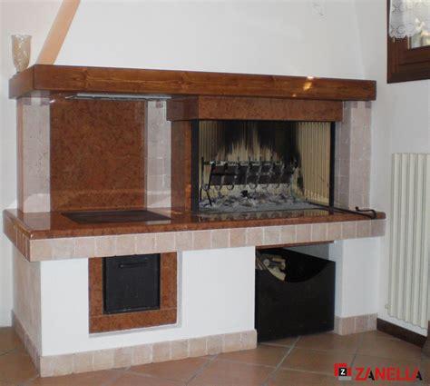caminetti da cucina cottura zanella