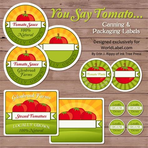 canning jar labels template tomato canning jars labels for your farmers market stand