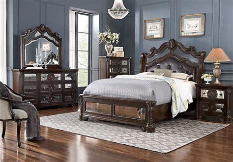glass mirror bedroom set kari likelikes glass castle king mirror bedroom set