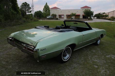 1970 buick skylark custom convertible 2 door 5 7l now