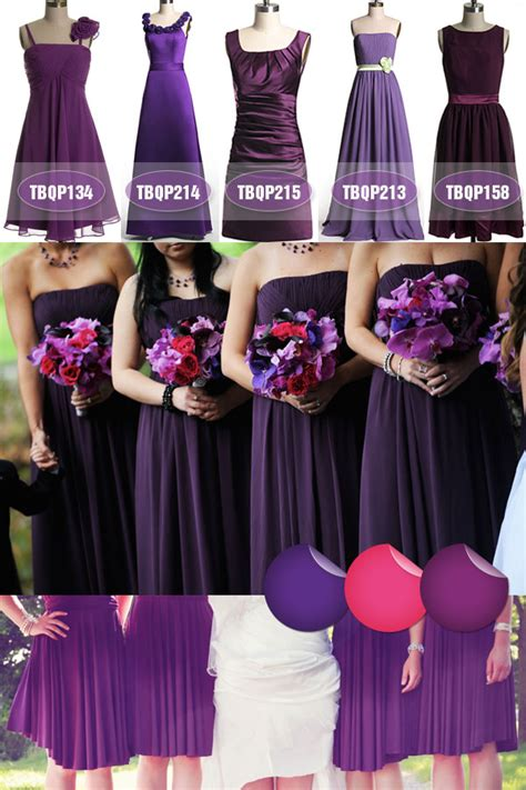 Fall Trend Alert Belted Purple Dresses by 2013 Fall Wedding Color Trend Tulle Chantilly Wedding