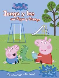 libro peppa juega ftbol peppa juega y lee con peppa y george peppa pig actividades megustaleer