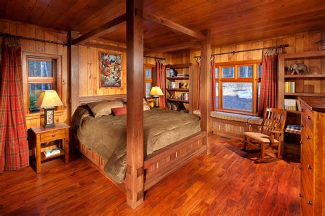 Bedroom Decorating Ideas For Log Homes Rustic Cabin Decor For Nature The Home