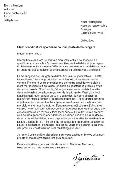 Exemple Lettre De Motivation Carrefour Lettre De Motivation Cora Mod 232 Le De Lettre