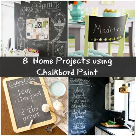 8 creative chalkboard project ideas for your home