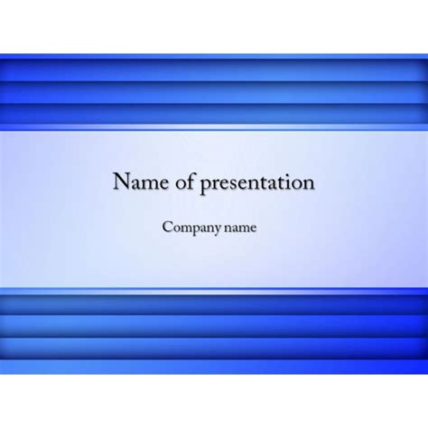 Blue Powerpoint Template Background For Presentation Free Free Ppt Presentations