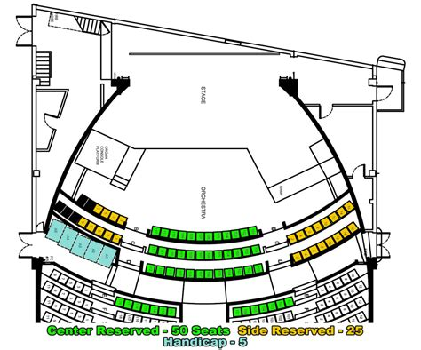 where is the orchestra section seating orchestra section seating 28 images fox theatre