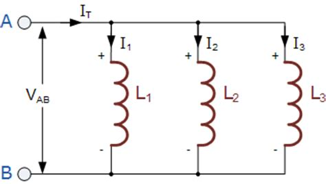 inductor parallel circuit inductors in parallel electronics