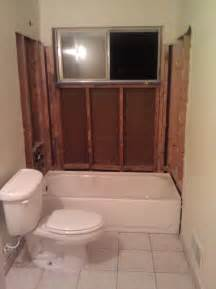 Converting A Bathtub Into A Shower Window In Shower What Would You Do