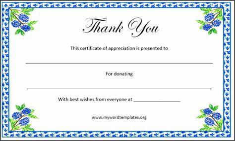 sponsor certificate template 9 ms word certificate of appreciation template